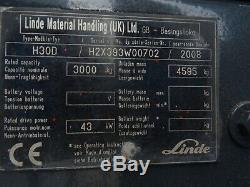 Linde H30d Diesel Occasion Camion. (# 2617)