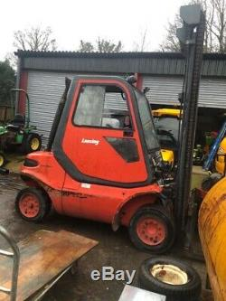 Linde H40d Chariot Diesel Occasion Camion Cabine