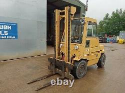 Linde H40dw Camion De Levage De Fourche De 4 Tonnes Année 1988 Utilisé