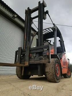 Linde H50t / 394 2011 Gas F / L Truck 5000kg En État De Vérification De L'état Autres
