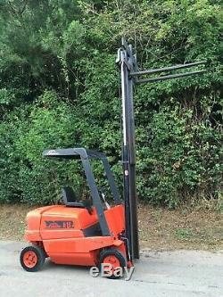 Linde Hd15 Chariot Élévateur 1,5 Tonne De Gaz De Levage Lpg Low Mast 2.1 M Conteneur Diesel