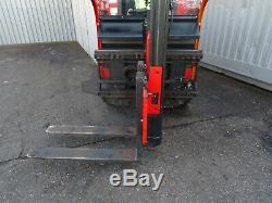 Linde K10. Camion De Chariot Élévateur Utilisé 1000kgs. (# 2321)