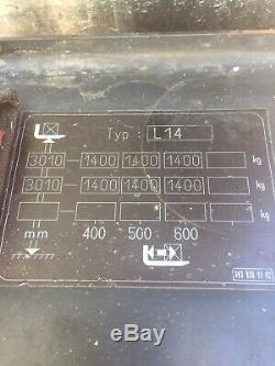 Linde L14 Électrique Gerbeur Chariot Élévateur