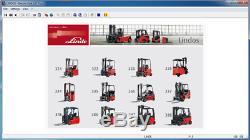 Linde Lindos 2014 Catalogue De Pièces Epc Pour Linde Forklift Trucks