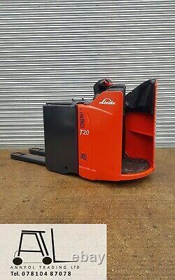 Linde T20 Sp De Transpalette Électrique Chariot £ 1150 + Tva