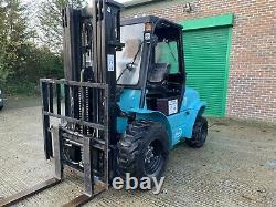 Linde/baoli Semi Rough Terrian Diesel Forklift Truck