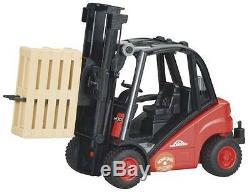 New Bruder Toys Proseries Linde Chariot Élévateur Bruder 02511 116 Échelle