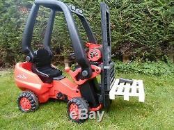 Pédale De Big Linde Chariot Élévateur Frontal Enfants Porteur Tracteur Jouets Pour Enfants