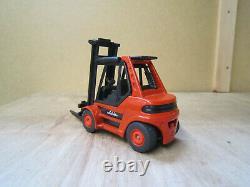 Siku Linde Industrial Forklift Truck Bon État Complet 1/50
