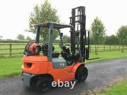 Toyota Forklift Gpl 04 Gaz 1800kg 4m Chariot Élévateur / Camion / Forktruck Ss Pas Linde