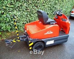 Tracteur-remorqueur Électrique Linde P60 / Plus De Chariots Élévateurs En Stock