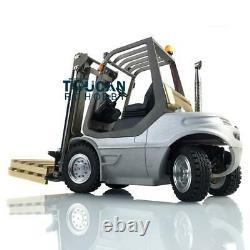 Uk Stock Lesu 1/14 Linde Unassembled Forklift Rc Transfer Servo Truck Motor Esc
